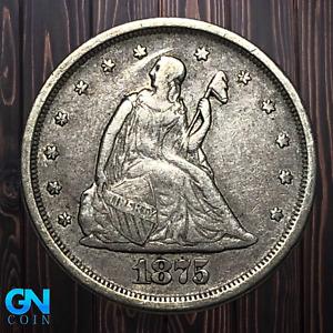 1875 S 20 Cent Piece  --  MAKE US AN OFFER!  #K5372