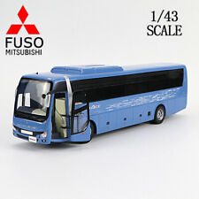 1/43 MITSUBISHI FUSO AERO ACE BUS DIECAST BLUE CAR MODEL COLLECTION FOR DISPLAY