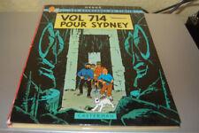 Tintin EO 1968 2ème tirage Vol 714 pour Sydney