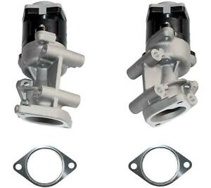 PAIR Front Left & Right EGR Valve FOR Peugeot 407, 607 2.7 HDI