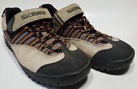 Men's Size 8.5 W Shimano SPD SH-M036 Mountain Bike Cycling  Shoes With Cleat