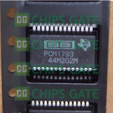1PCS PCM1793DB PCM1793 192KHZ SAMPLING ADVANCED SEGMENT AUDIO STEREO DAC SSOP28