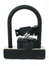 Serfas UL-140 U-Lock Bike Lock with Keys and Frame Mount Bicycle Security Black