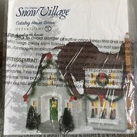 Dept 56 Snow Village® LYNNHAVEN HOUSE (GRAY) - BRAND NEW-SEALED IN PLASTIC