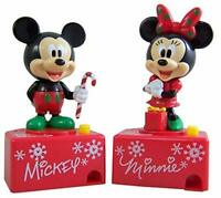 Disney Mickey and Minnie Mouse Talking Candy Dispensers, Set of 2