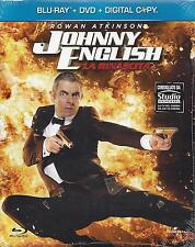 Blu Ray+Dvd+Digital Copy Box ♦JOHNNY ENGLISH ♦ LA RINASCITA♦ Nuovo Slipcase 2011