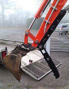 360 midi 3 Lite digger, thumb grab for excavators 2.6-2.9T inc vat