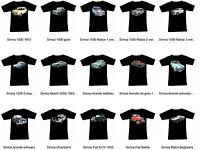Camiseta con Simca Automóvil - Fruit Of The Loom S M L XL 2XL 3XL