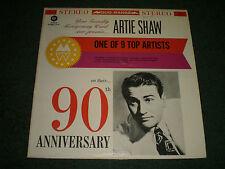 Artie Shaw Montgomery Ward 90th Anniversary~Jazz Comp~RED VINYL~FAST SHIPPING!!!