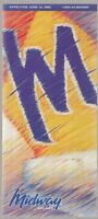 [25748] 1995 MIDWAY AIRLINES (MID-ATLANTIC) FLIGHT SCHEDULE