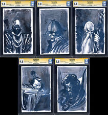 FIVE GHOSTS #1 2 3 4 5 FULL SET (SDCC Variants) CGC 9.8 SS / Signed by Barbiere!