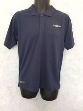 Mens Umbro Polo Shirt Top Size XLarge Brand New Navy #4793