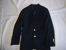 Boys CLASS CLUB Navy 8% Wool BLAZER JACKET 8 Dressy Suit Coat