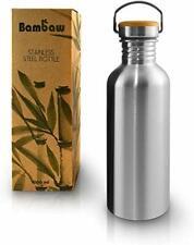 Single Wall Stainless Steel Water Bottle | 1 Litre Water Bottle | Eco Friendly