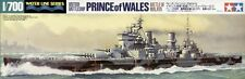 Tamiya 31615 1/700 Model Kit British Battleship Royal Navy HMS Prince of Wales