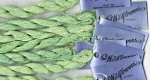 Caron Collection Wildflowers 067 Celadon Green Thread Needlepoint Cross Stitch