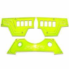 8 Switch Lime Squeeze 3pc Dash Panel Polaris RZR XP1000 900S 50 Caliber Racing