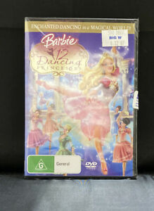 Barbie In The 12 Dancing Princesses DVD TOP MOVIE DANCE FAIRY TALE BRAND NEW R4