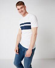 REMUS UOMO® Striped T-Shirt/White - XL New SS20