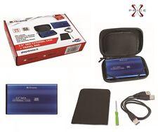 Box case HDD 2,5esterno alluminio con borsa e accessori SATA USB 2.0 XTREME