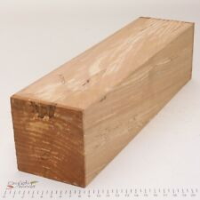 English Spalted Beech wood turning spindle blank. 90 x 90 x 350mm. 5202A