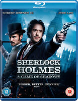 Sherlock Holmes: A Game of Shadows Blu-Ray (2012) Robert Downey Jr, Ritchie