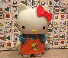 "Vintage Hello Kitty 6"" Vinyl Rubber Figure Doll RARE Toy Dress Up Collectable"