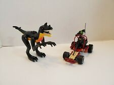 7474 Lego Dino Attack Urban Avenger vs. Raptor complete w/ dinosaur