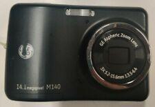 GE M140 14.1MP Digital Camera - Black *GOOD/TESTED*