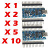 Multi buy Arduino Nano v3.0 – Compatible Board CH340G 5V 16MHz atmega328 Tested