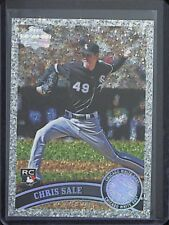 2011 Topps Diamond Anniversary #65 Chris Sale MINT FROM PACK