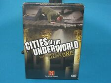 Cities of the Underworld: The Complete Season One (DVD, 2007) FACTORY SEALED NEW