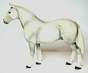 BESWICK Ceramic Horses 2012 - WELSH COB in White Grey