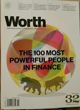 Worth 100 Most Powerful People in Finance Oct Nov 2014 FREE PRIORITY SHIPPING!