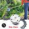 65Mn Trimmer Head Coil Chain Brush Cutter Garden Grass Trimmer Fit Lawn Mower