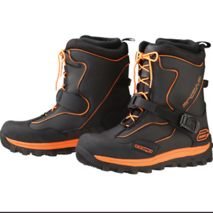 Brand New Arctiva S6 Comp Boot - Size:9 - Black/Orange - # 3420-0557