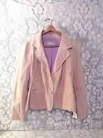 NEW with TAGS Wilsons Leather Maxima Women's Suede Jacket XL Button