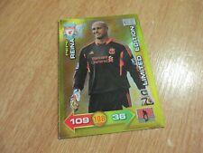 Panini 11 12 2011 2012 Adrenalyn XL Liverpool Pepe Reina Limited Edition Card