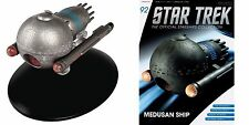 Eaglemoss Diecast Star Trek Starship Medusan Vessel #92 w/Magazine
