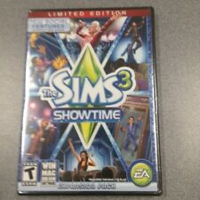 NEW SEALED - The Sims 3 Showtime - Limited Edition - PC 2012  New & Sealed