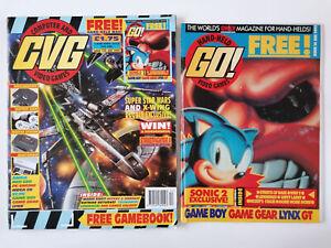 CVG Magazine Ft Star Wars And GO! Magazine Ft Sonic 2 December 1992