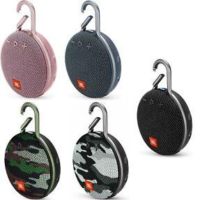 JBL Clip 3 Bluetooth Speaker Rechargeable IPX7 Waterproof Portable Wireless New