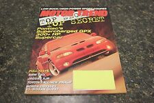 MOTOR TREND TOP SECRET SUPERCHARGED GPX MARCH 1995 VOL.47 #3 9248-1[LOC.ELK] #23