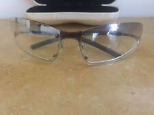 Genuine Chanel Sunglasses Aviator Light GreyTint Mirror 4066 B C.124/61 Rare