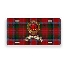 MacDuff Scottish Clan Novelty Auto Plate Tag Family Name License Plate
