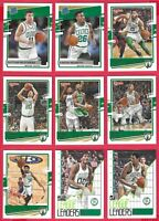 2020-21 Donruss Boston Celtics Lot of 9 Pritchard-Nesmith-Tatum-Smart-Hayward ++