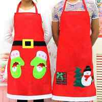 Hot 1pc New Year Apron Ornaments Christmas Gift Decoration Pinafore Xmas Supply