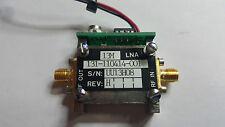 DMC 110414 faible bruit Amplificateur LNA from Military Satellite Mobile Unit
