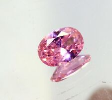 Super Sale 10.14 Ct Certified Natural Transparent Oval Cut Pink Sapphire Gems