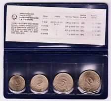 National Bank of Yougoslavia - UNCIRCULATED SET COMMEMORATIVE FAO COIN 1970-1976